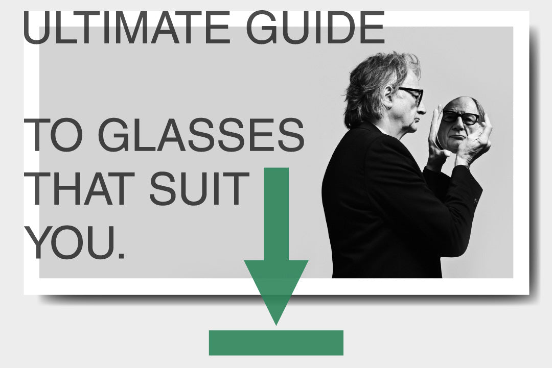 A PDF download about finding glasses to suit your face shape