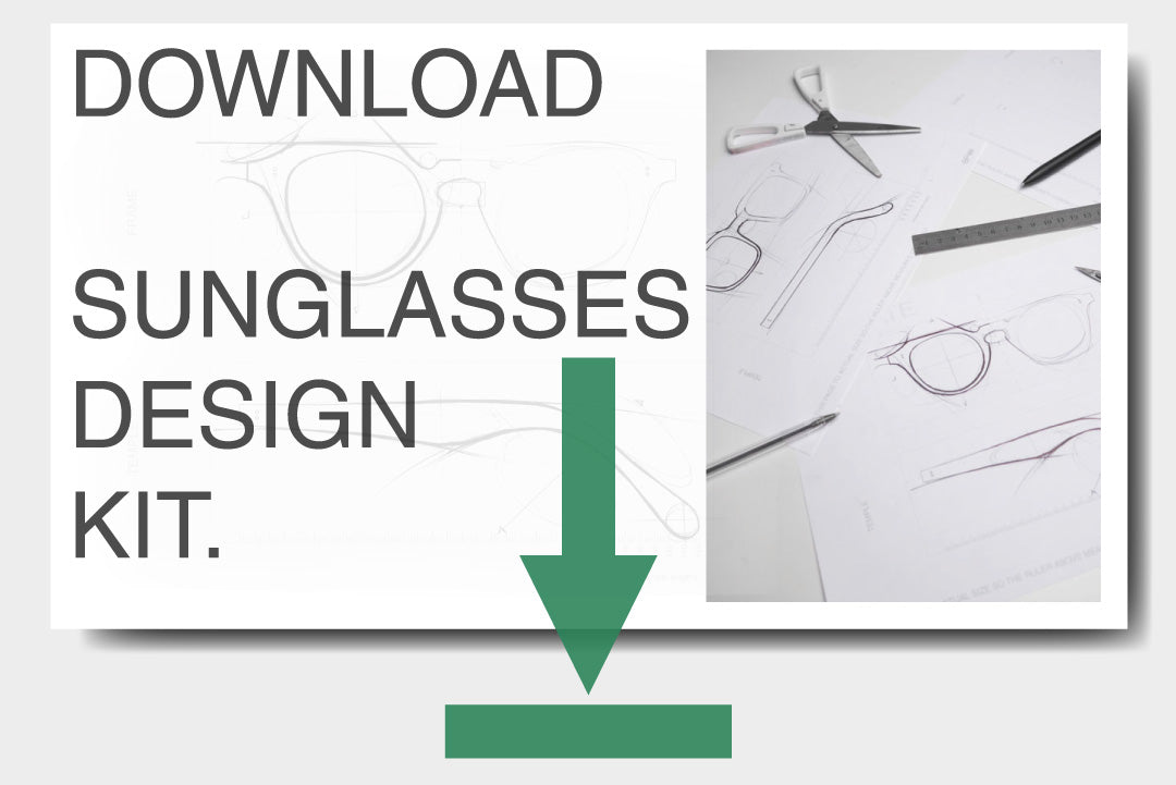 A PDF guide to designing your perfect sunglasses