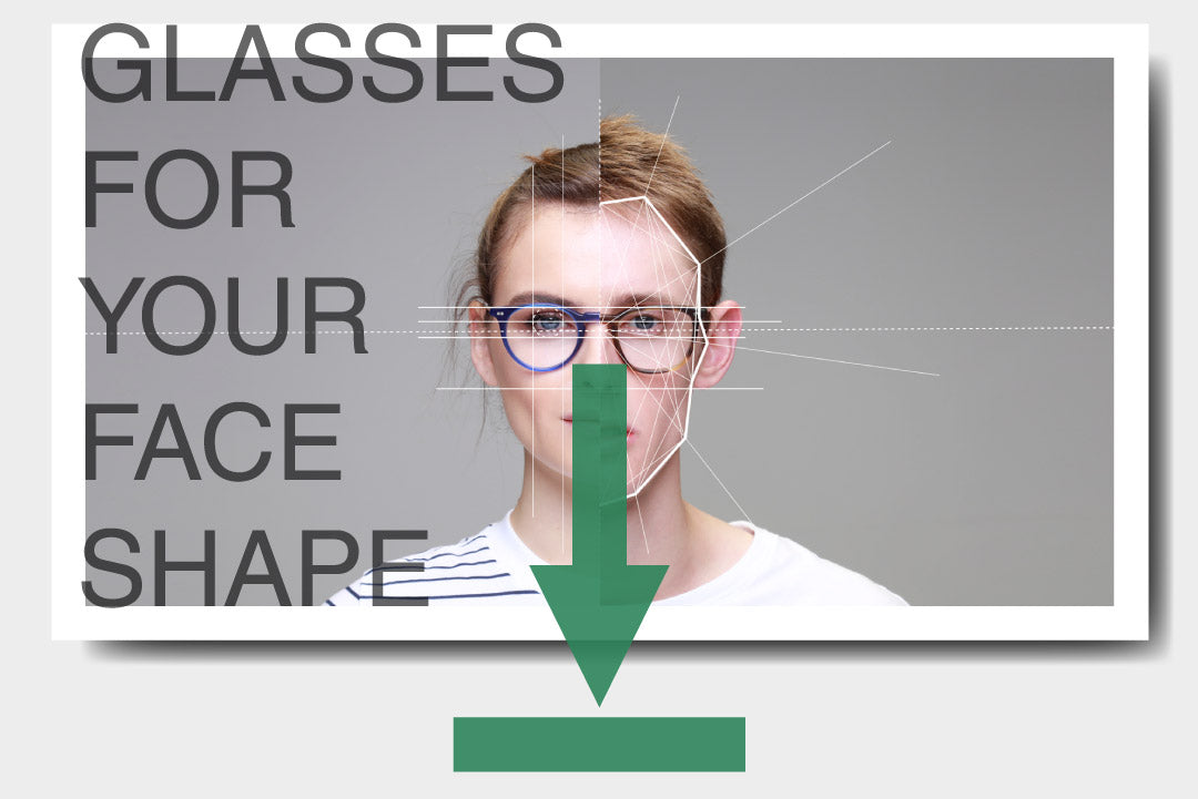 A PDF guide to finding glasses for your face shape