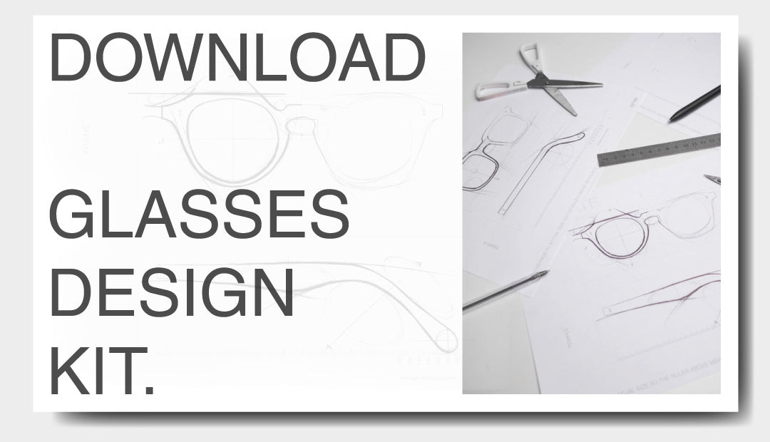 A downloadable guide to designing your perfect glasses