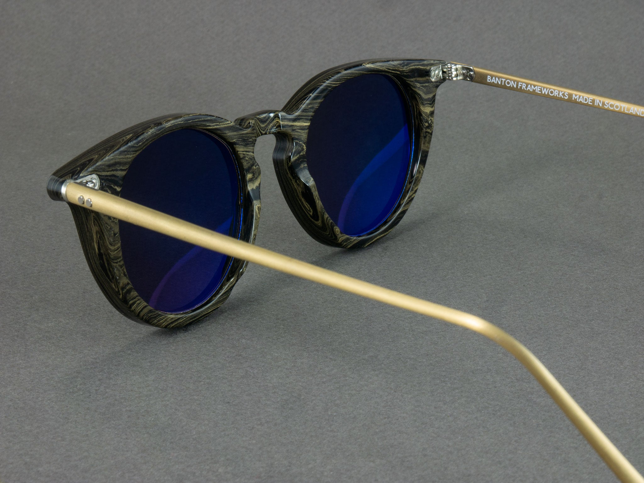 Aerial View of Ebonite Sunglasses