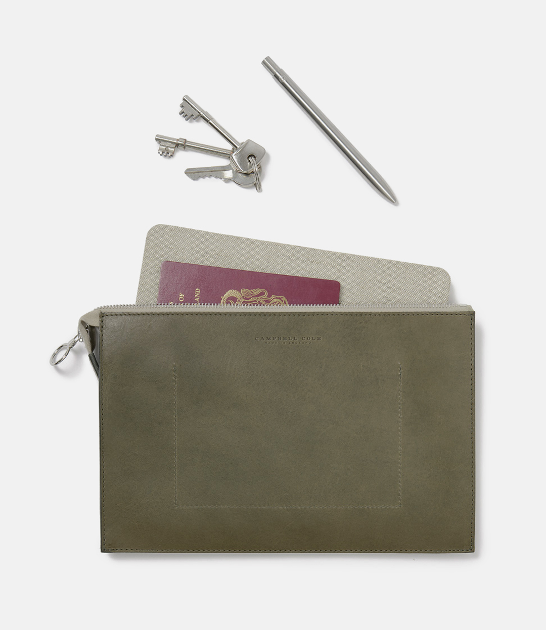 Campbell Cole. CampbellCole. Simple Collection. Simple Coin Pouch. SimpleCoinPouch. Khaki. Banton Frameworks