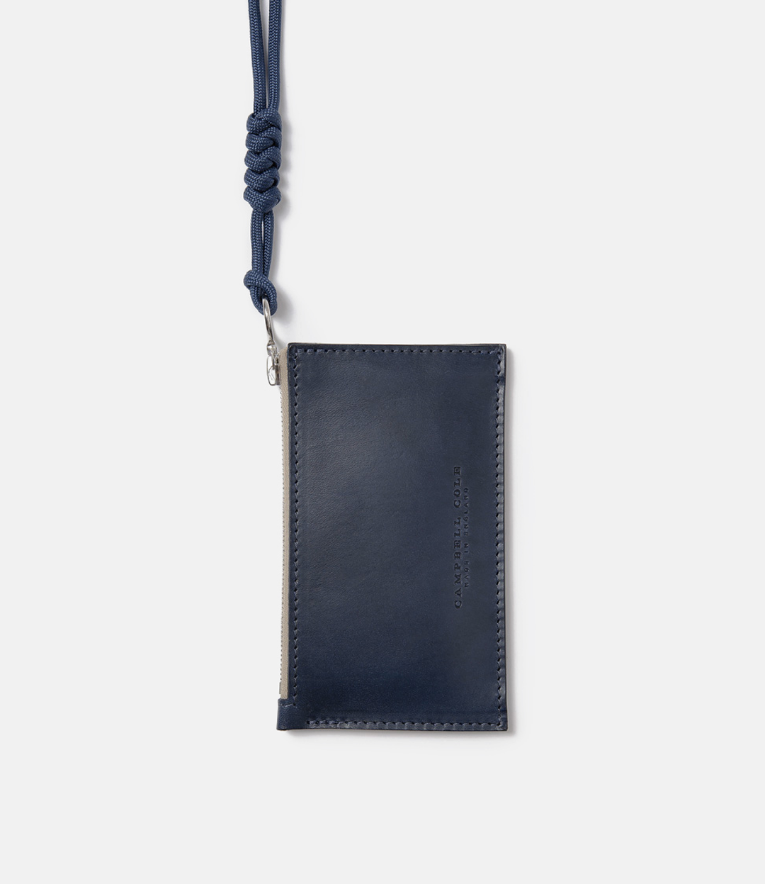 Campbell Cole. CampbellCole. Simple Collection. Simple Coin Pouch. Lanyard. SimpleCoinPouch.Navy. Banton Frameworks