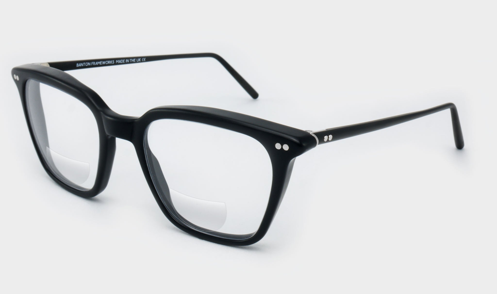 Bifocal-small-square-black-glasses-Side-View