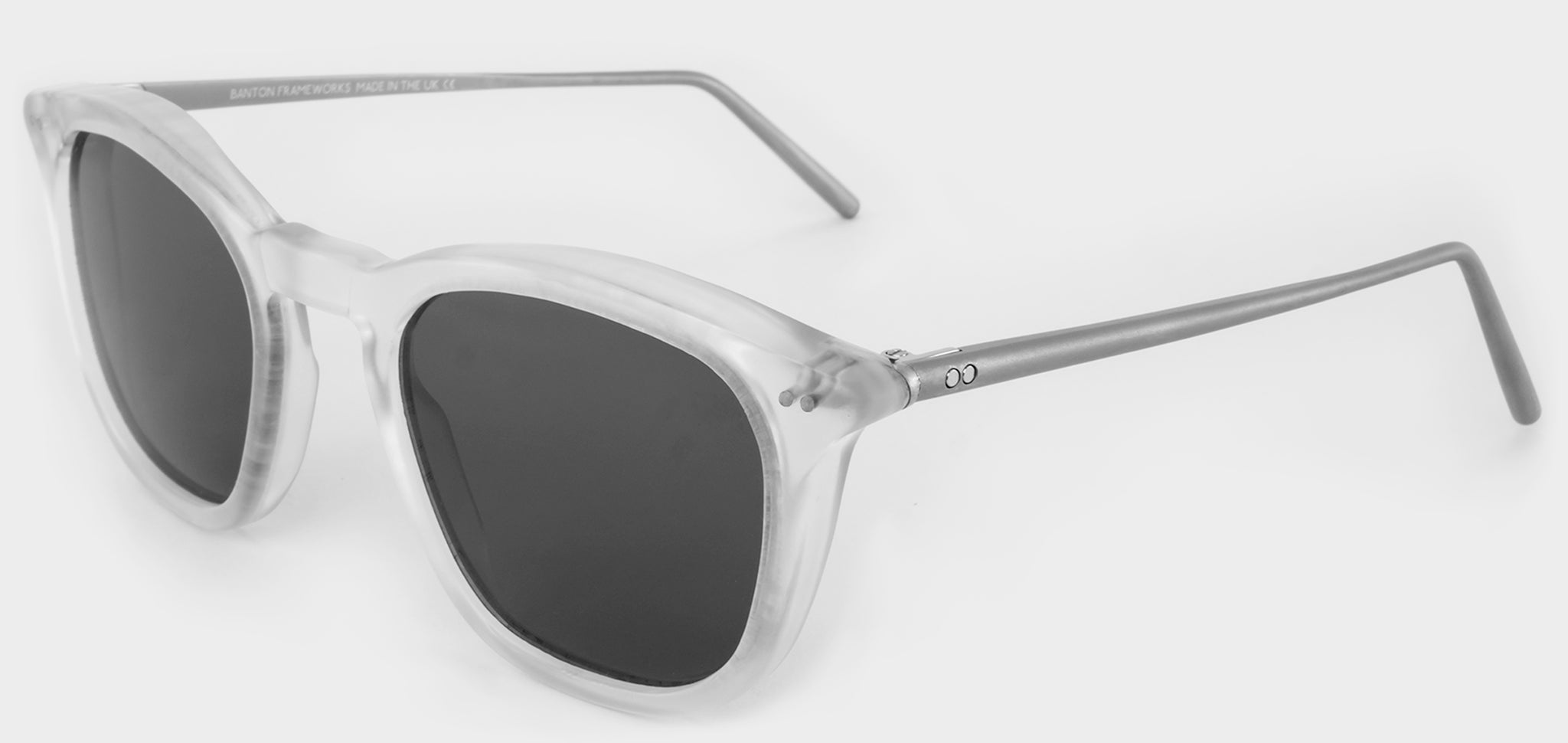 clear acetate sunglasses