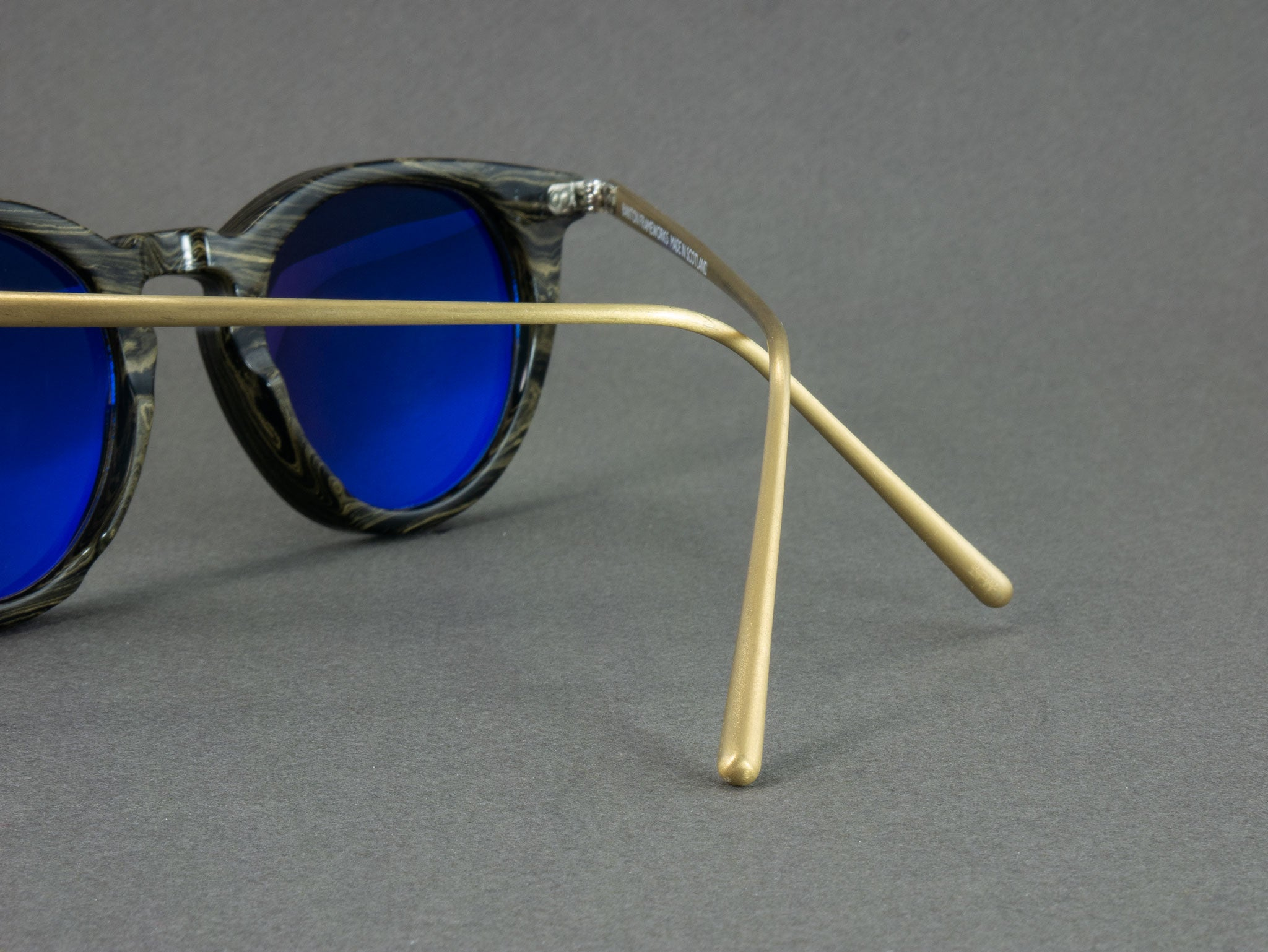 Close up View of Ebonite Sunglasses temples