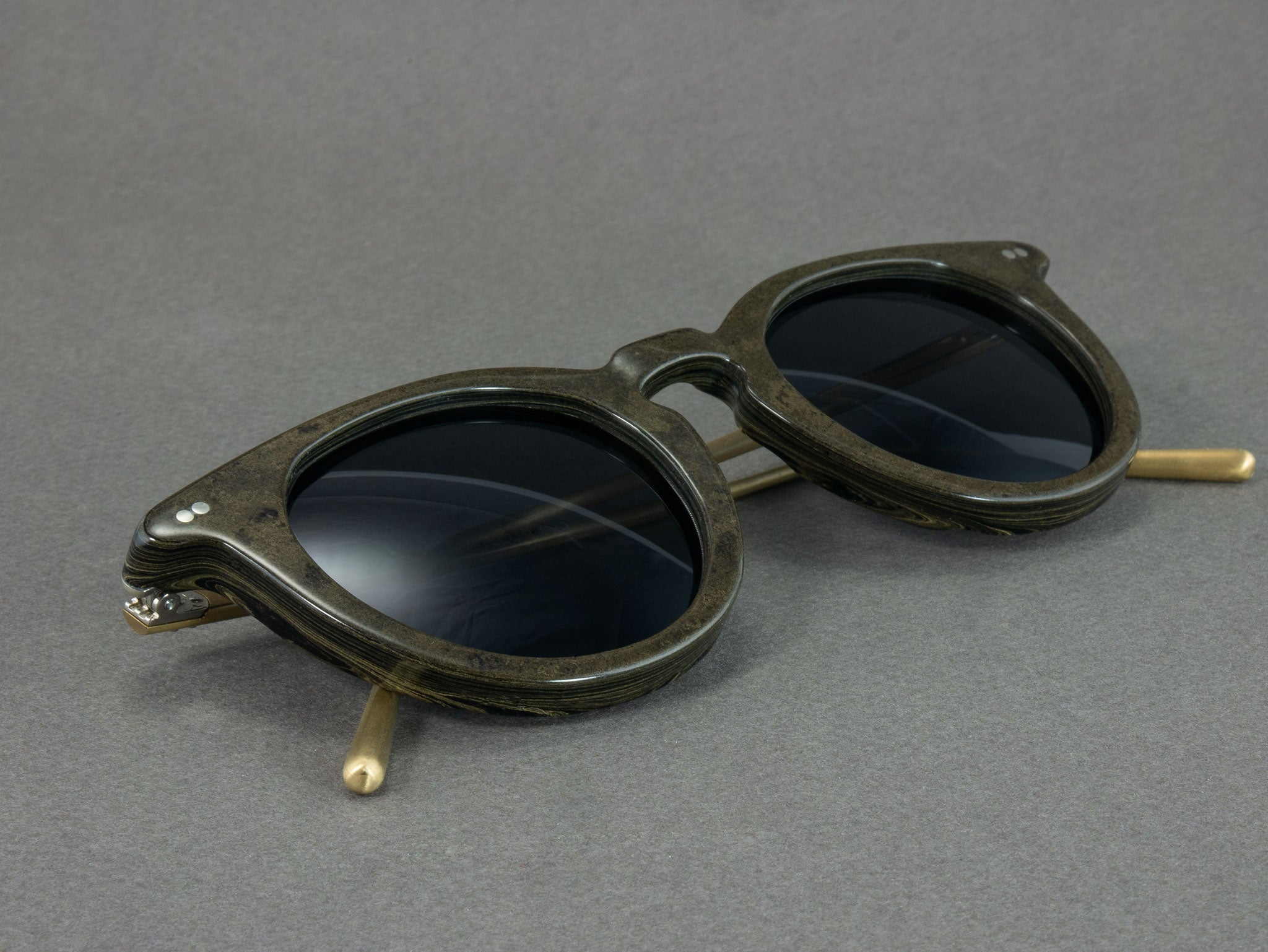 Close up View of Ebonite Sunglasses