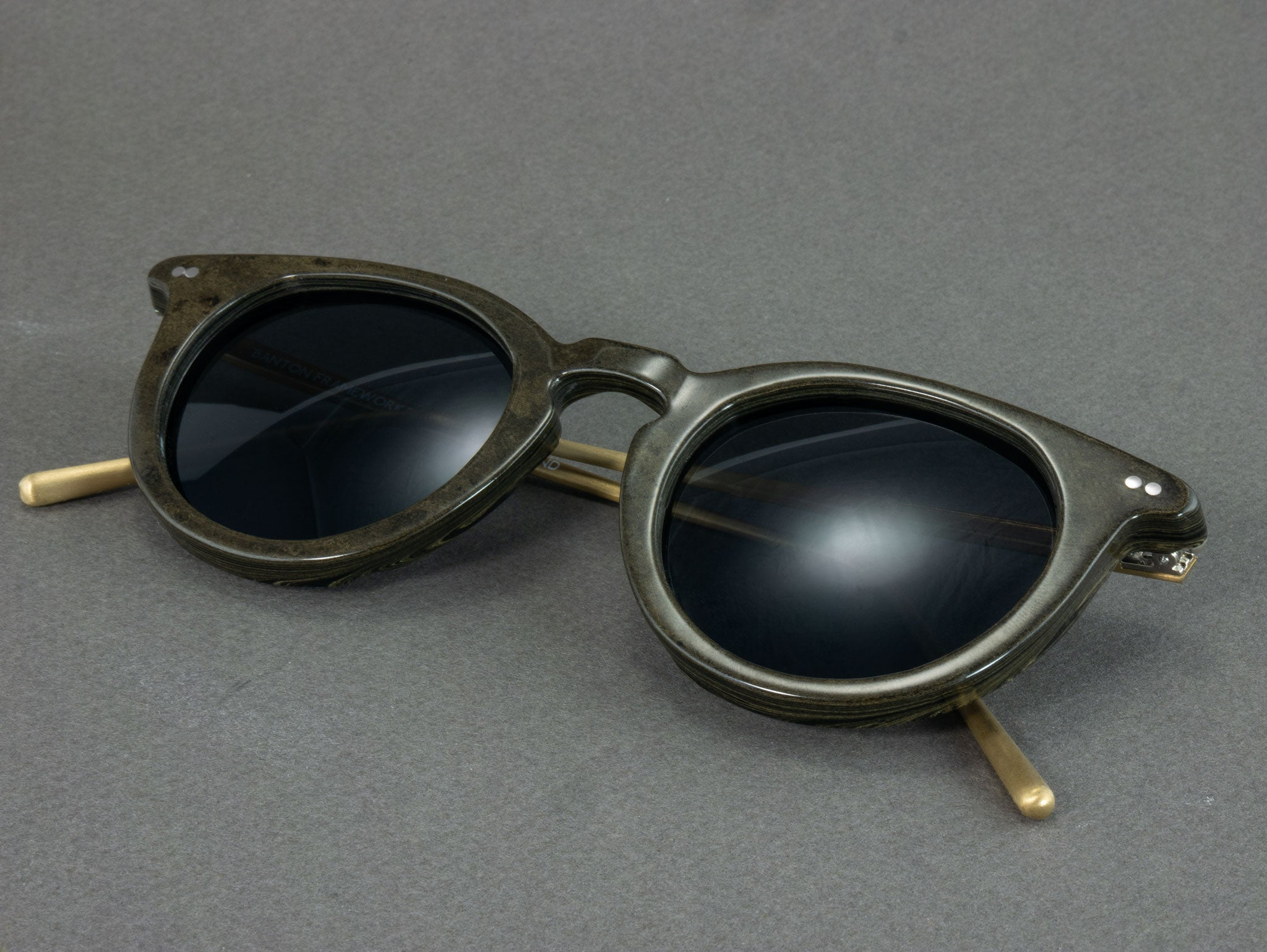 Ebonite Sunglasses folded
