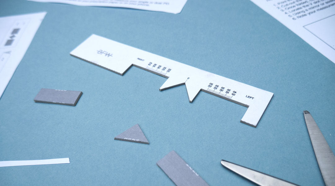 photograph regarding Printable Pupillary Distance Ruler referred to as Absolutely free PD Ruler obtain Banton Frameworks