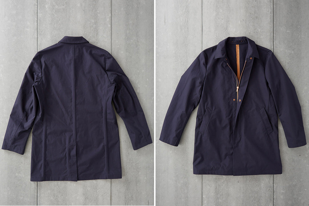 Click image of unlined ventile cotton jacket to access Private White VC website.