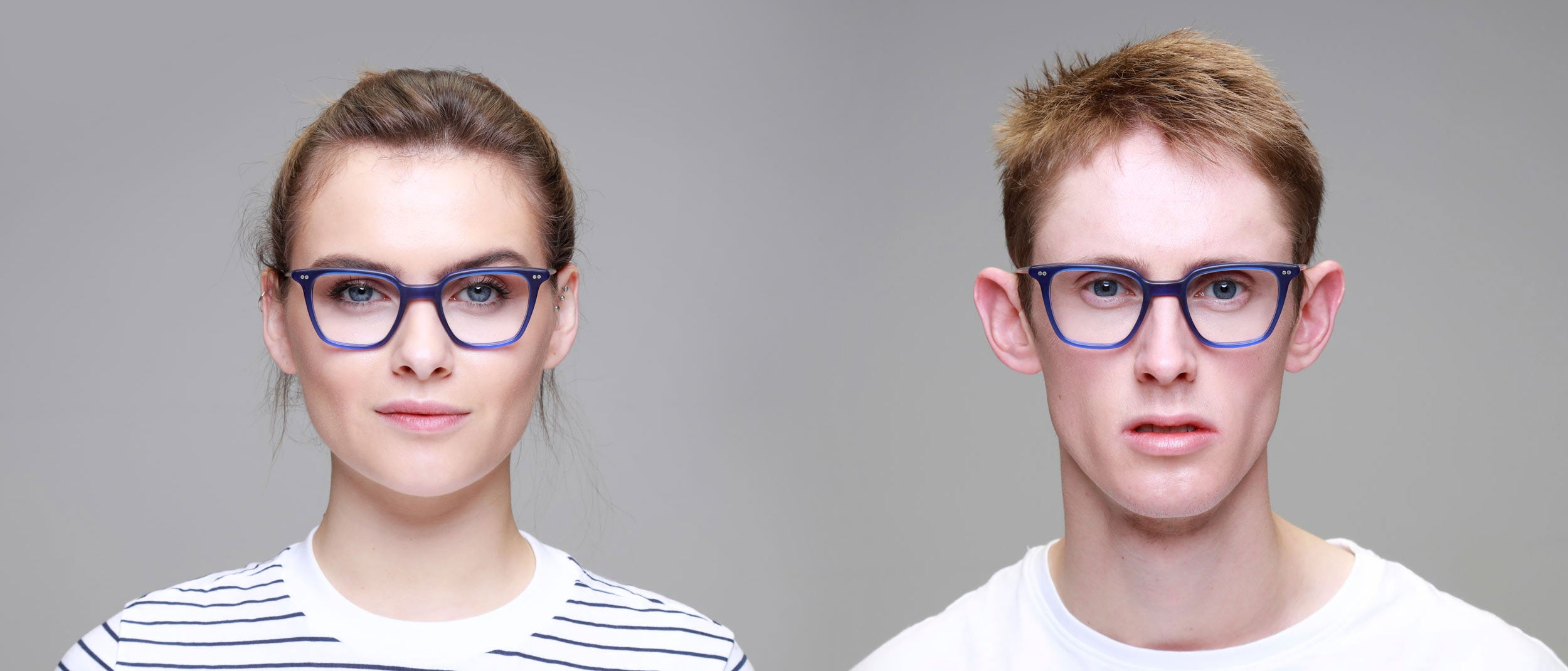 Man-and-Woman-Wearing-Varifocal-small-square-blue-glasses