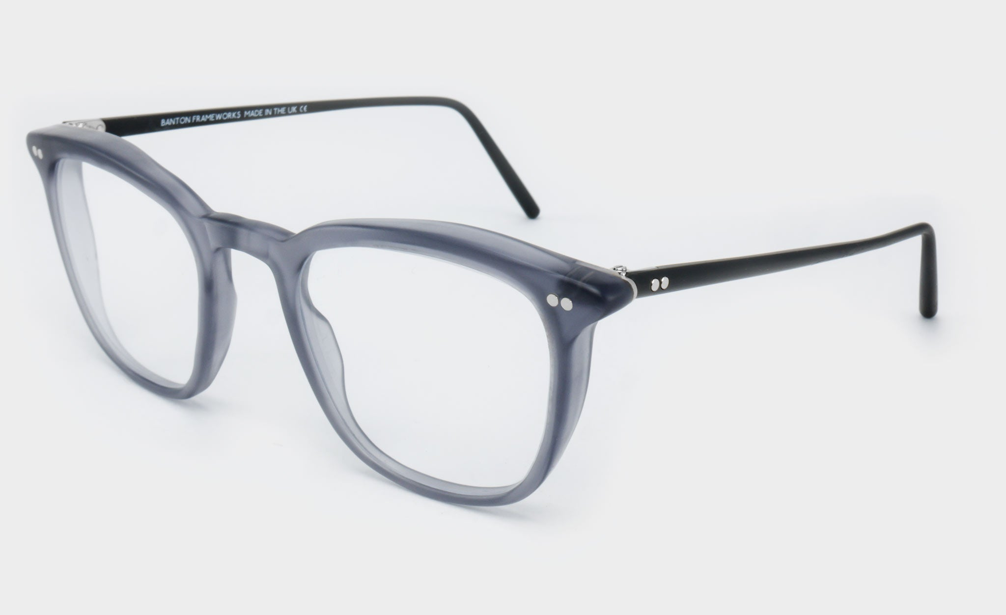 Mens-Large-Rounded-Square-Grey-Glasses-Frame-Side-View