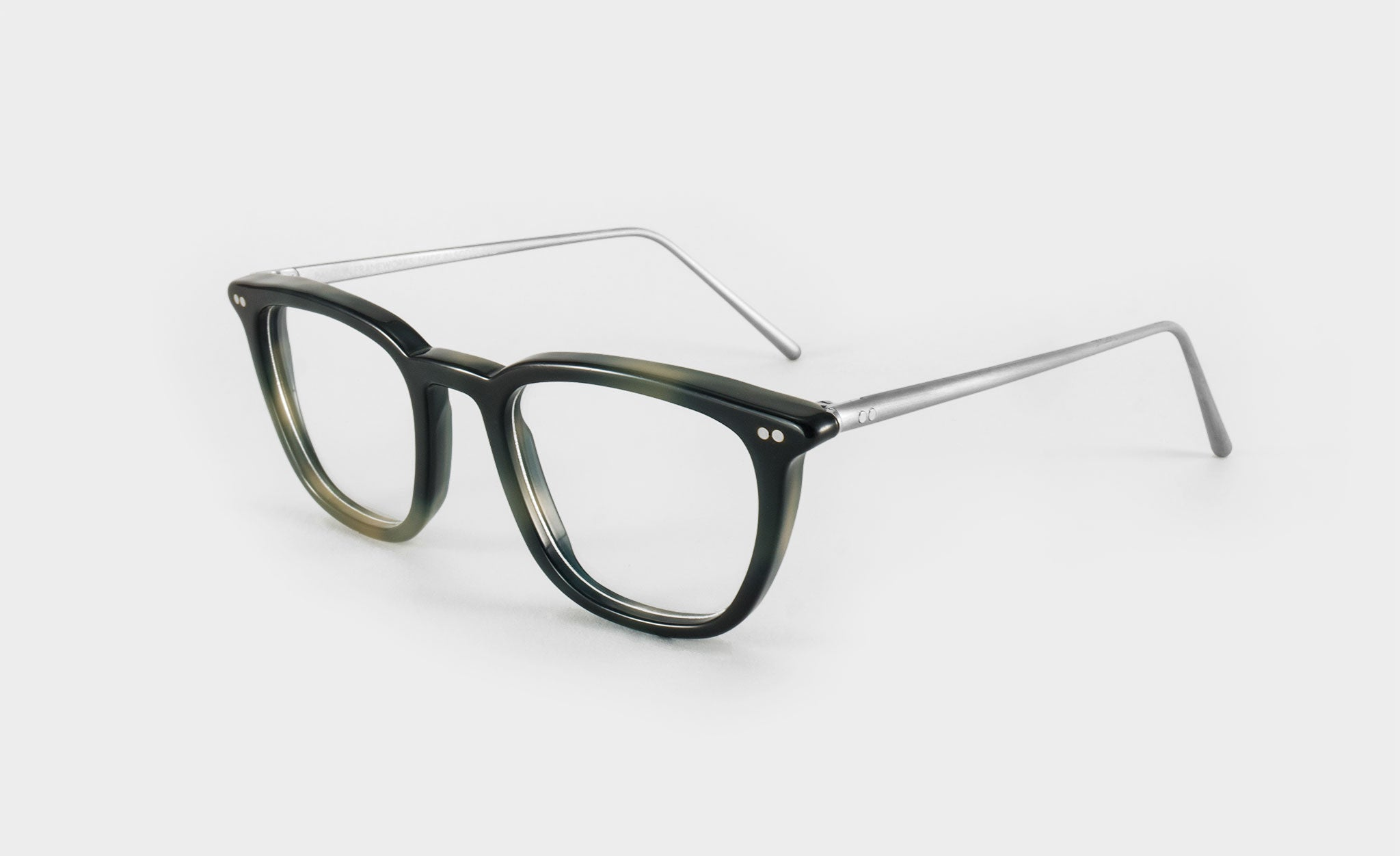 Optical glasses frame b loc side view