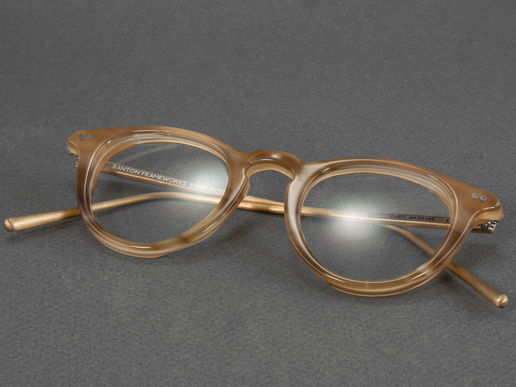Optical glasses frame d rd folded