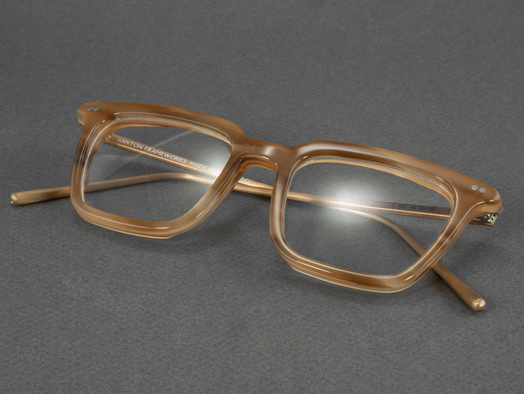 Optical glasses frame e rd folded