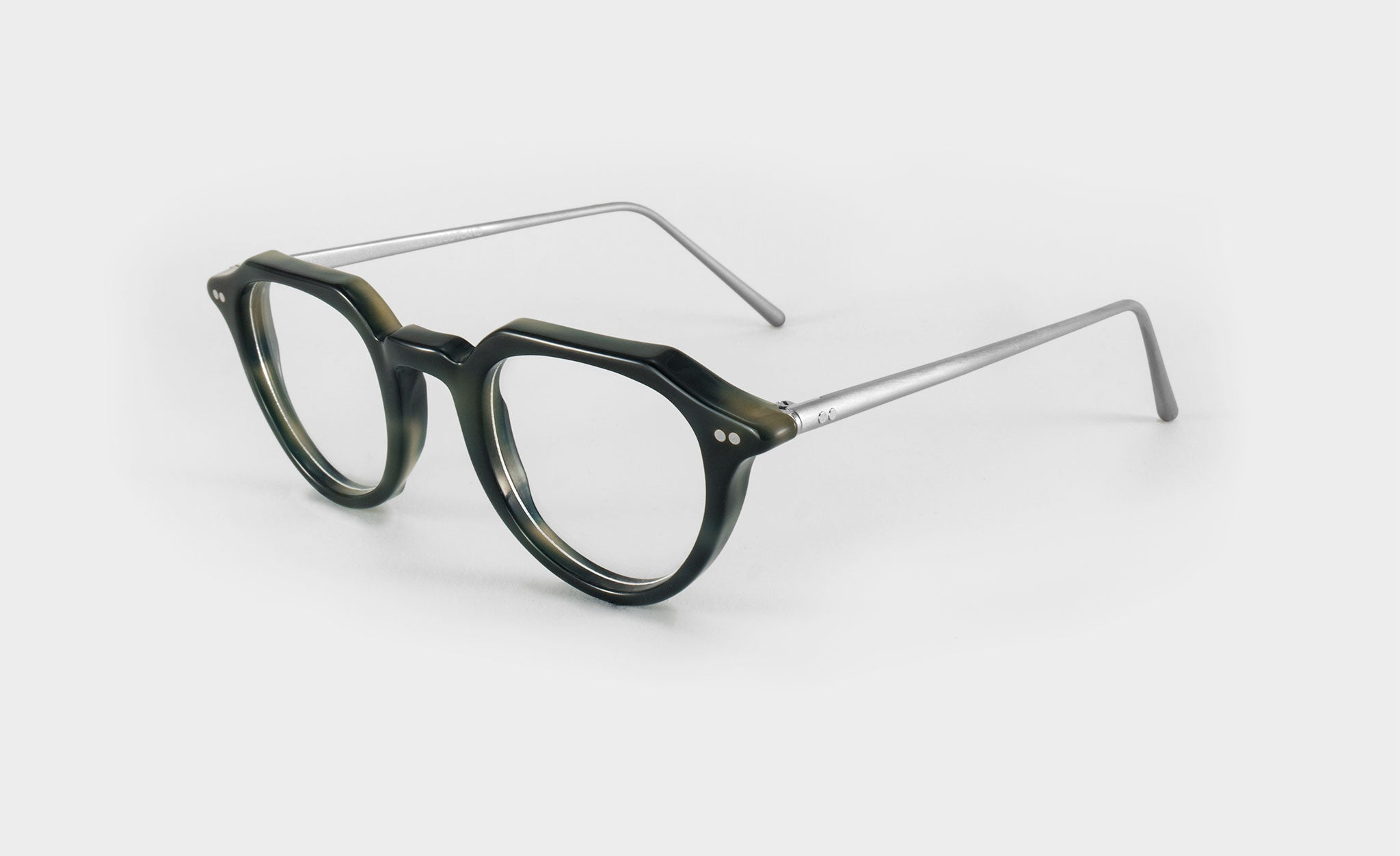 Optical glasses frame g loc side view