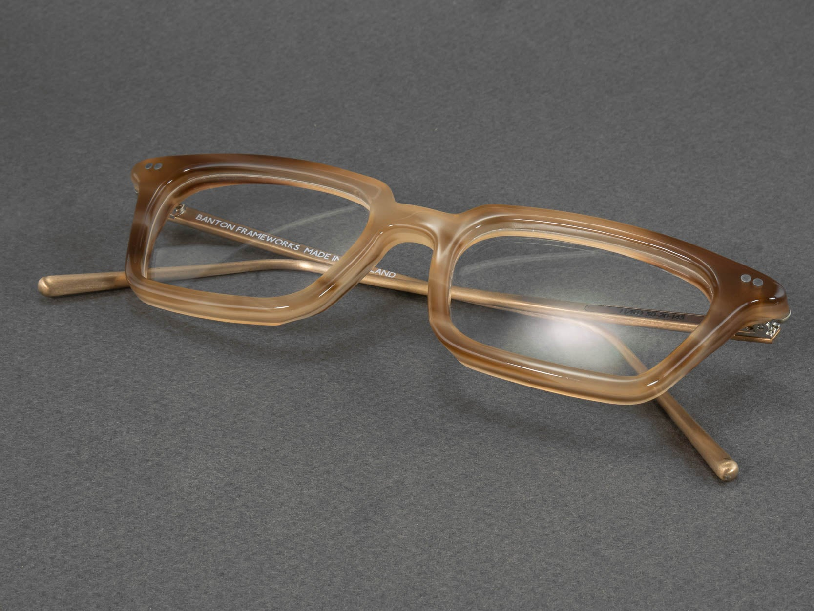 Optical glasses frame h rd folded
