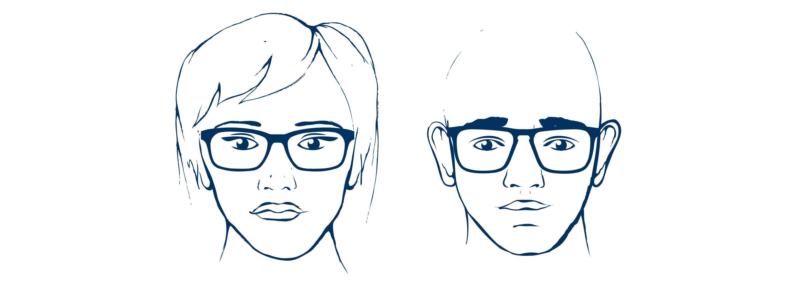 Prescription glasses for oval face shapes