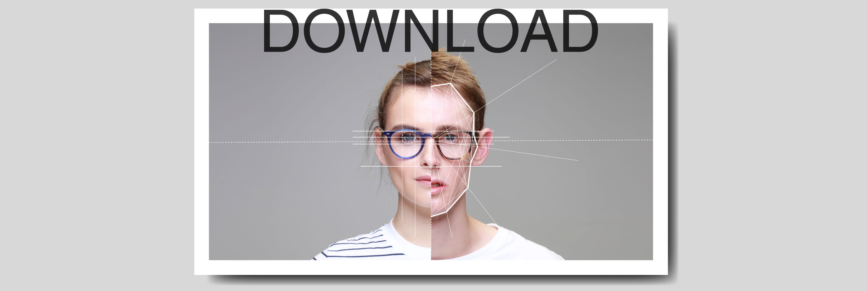 PDF guide download to finding glasses that suit your face shape