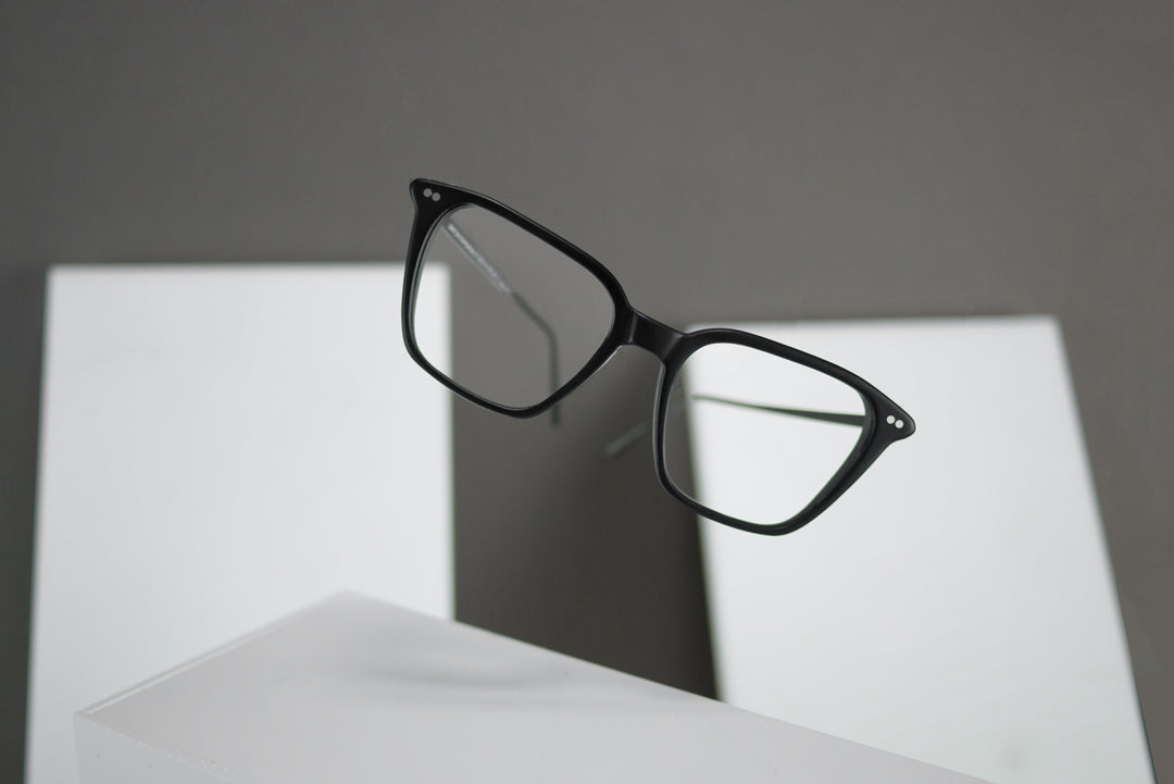 Popular mens glasses rectangular black frame