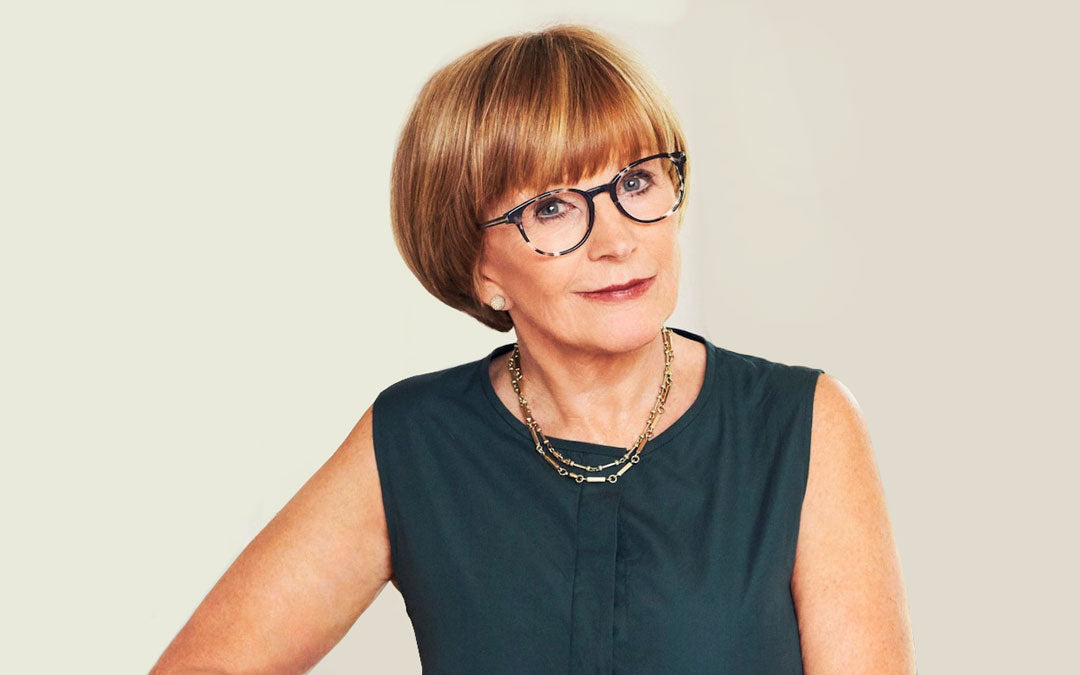 d618fc6413e Round shaped glasses worn by Anne Robinson. Do rimless glasses make you look  ...