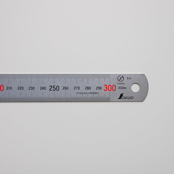Image of a steel ruler.