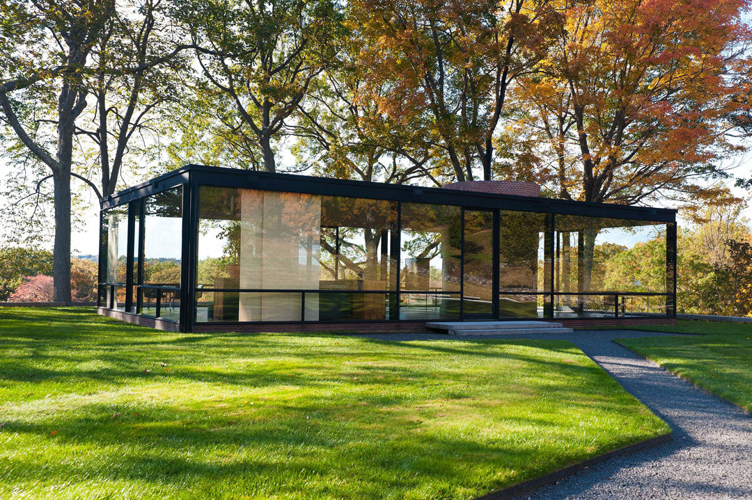 The Glass House by Phillip Johnson
