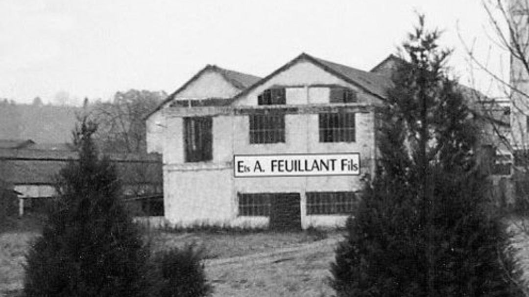 The closed Feuillant Galalith factory in France