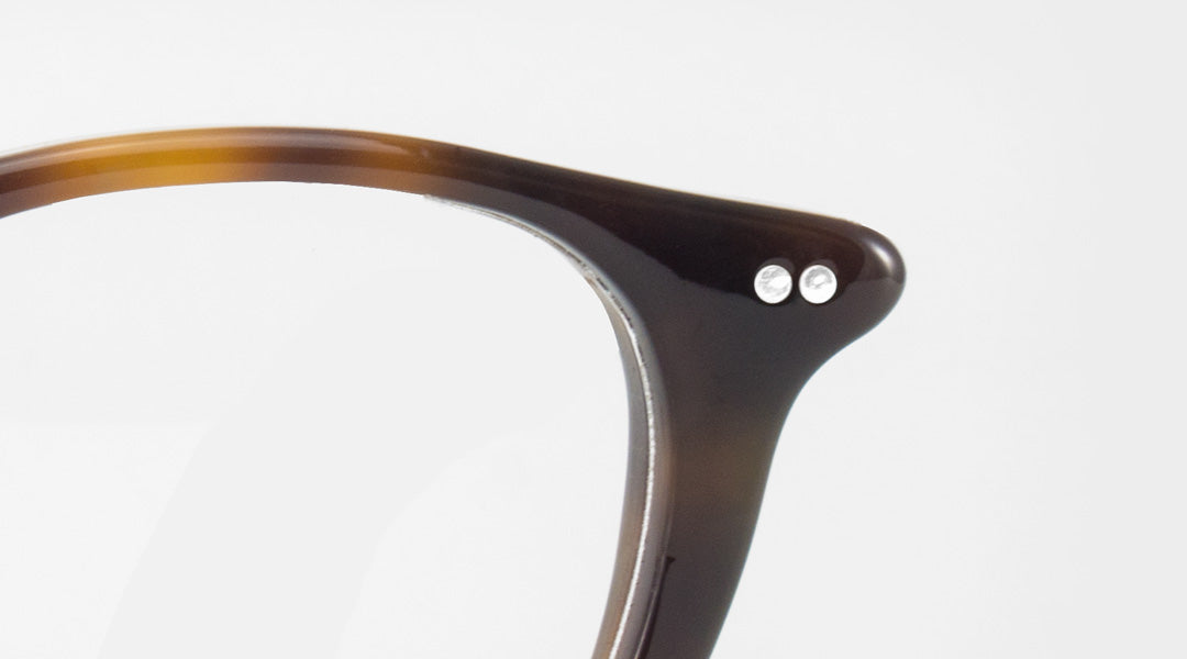 The endpiece part of a glasses frame