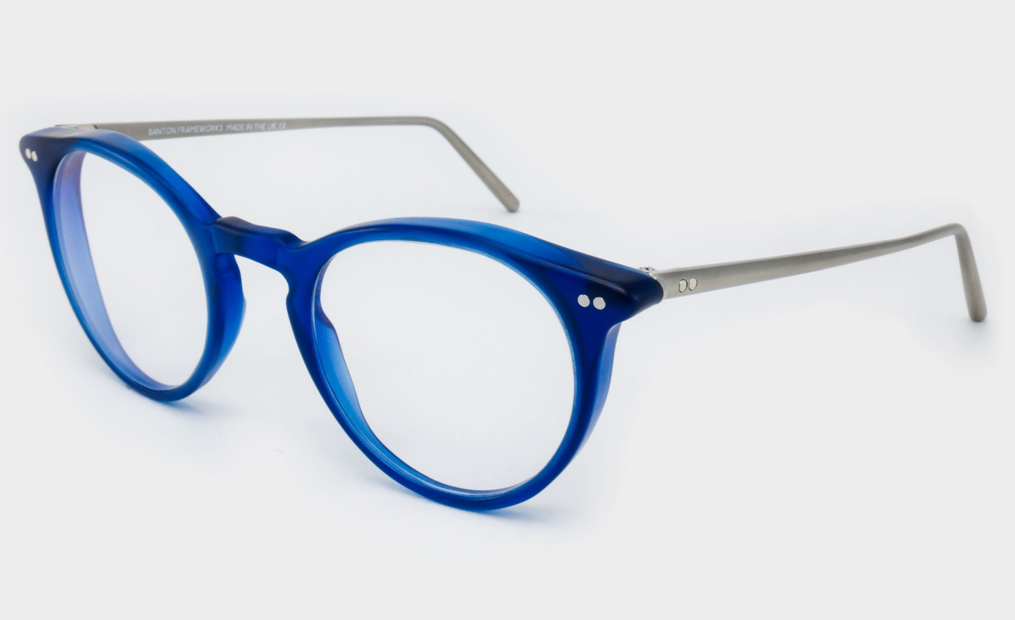 Varifocal-Round-Blue-frame-glasses-Side-View