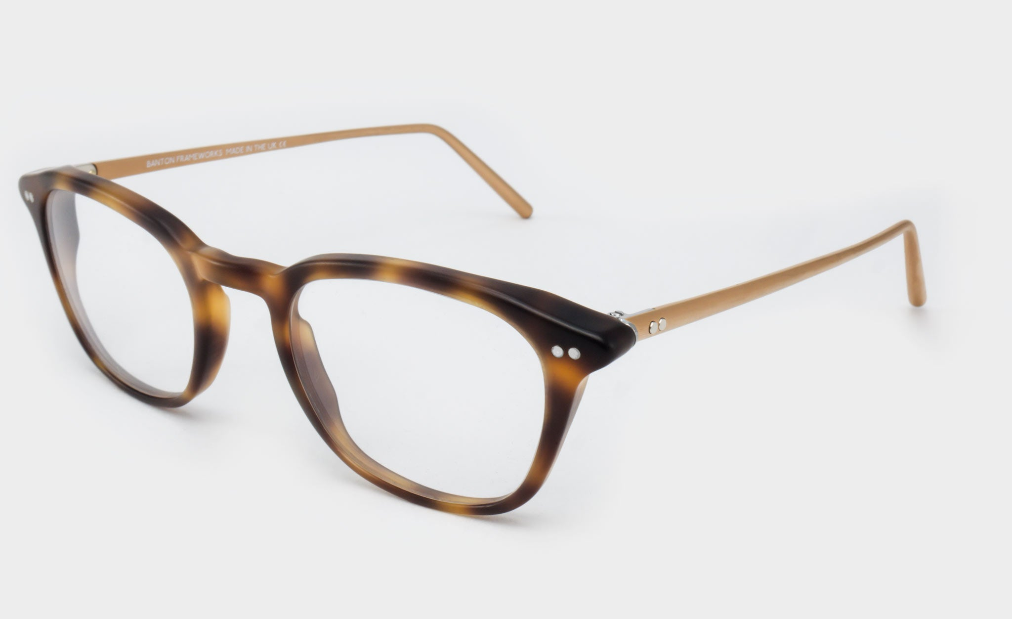 Varifocal-Tortoiseshell-rectangle-frame-glasses-Side-View
