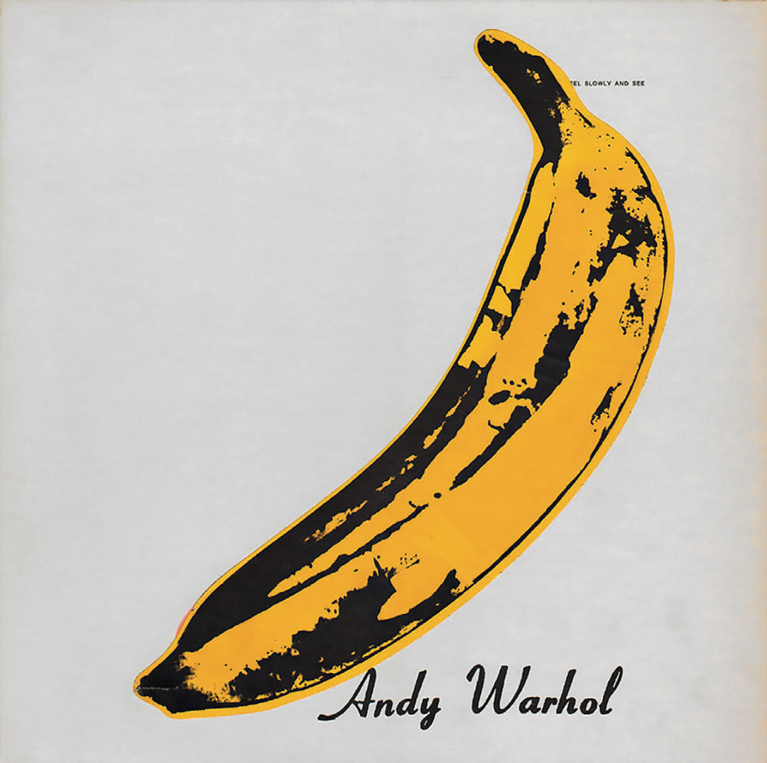 Velvet Underground and Nico LP banana album cover by Andy Warhol