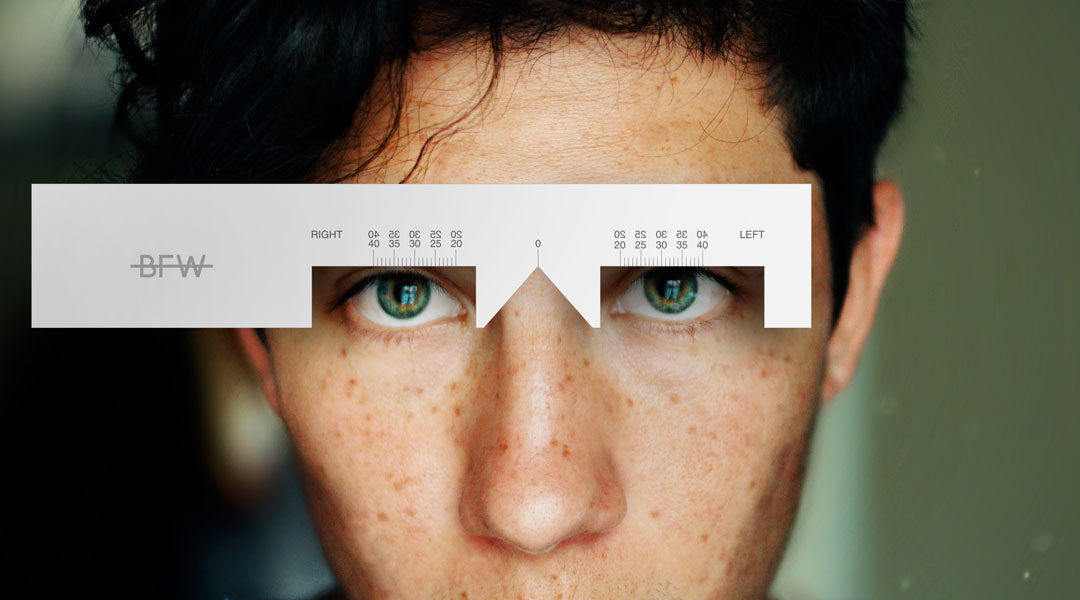 picture about Printable Pupillary Distance Ruler called Totally free PD Ruler down load Banton Frameworks