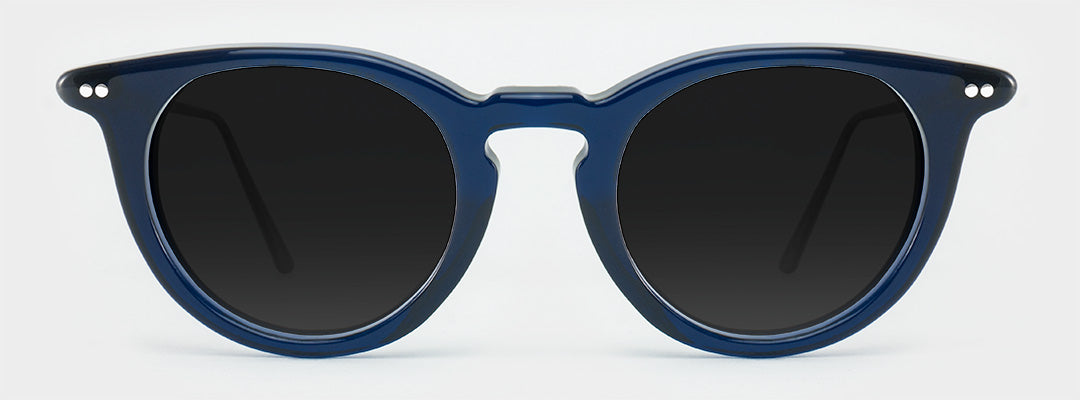 blue polarised sunglasses