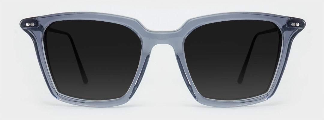 grey square polarised sunglasses