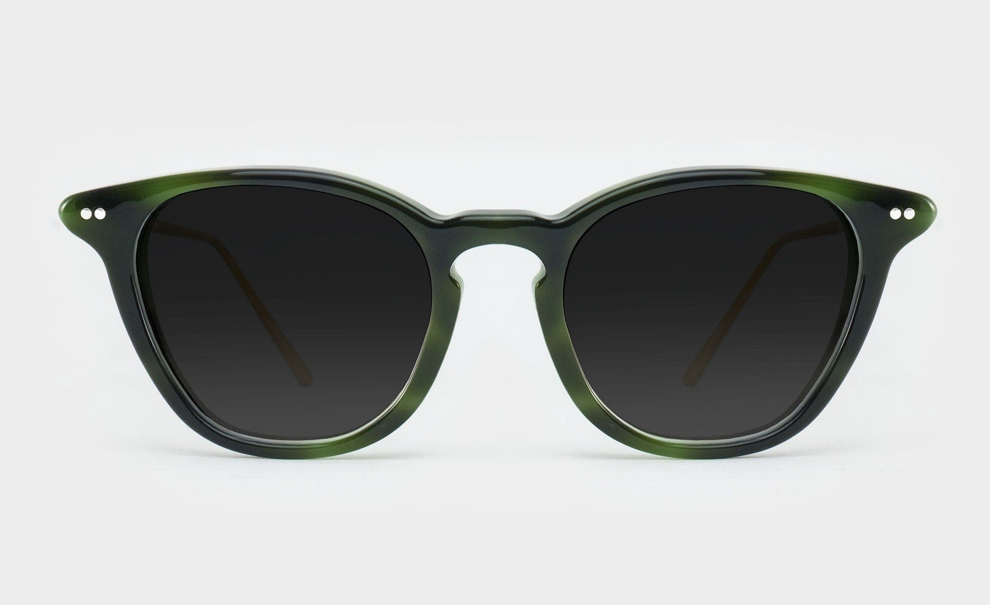 Wayfarer style polarised sunglasses frame