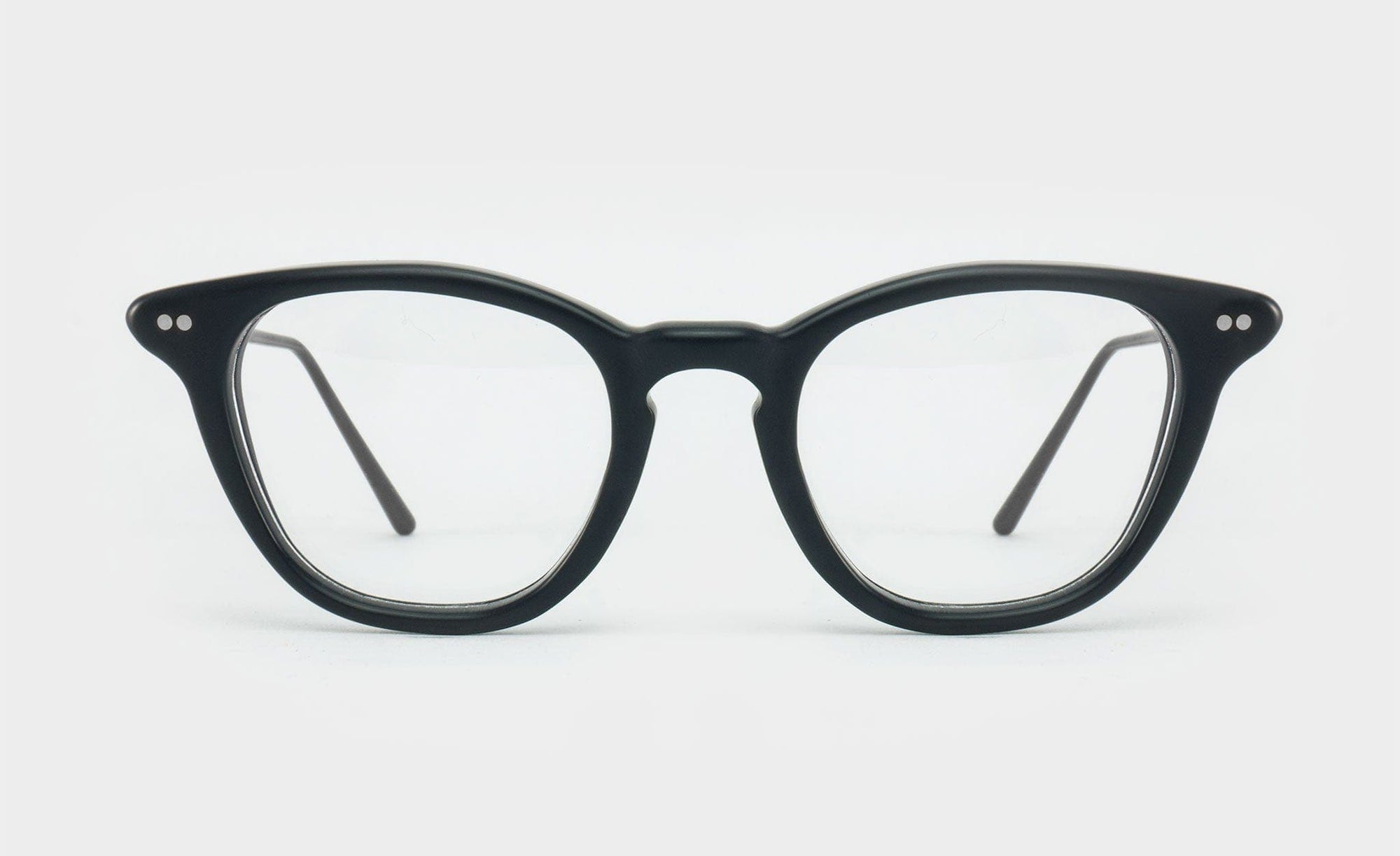 matte black glasses frame