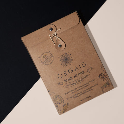 Orgaid Organic Mask Sheet