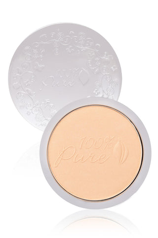 100 Percent Pure Healthy Skin Powder Foundation