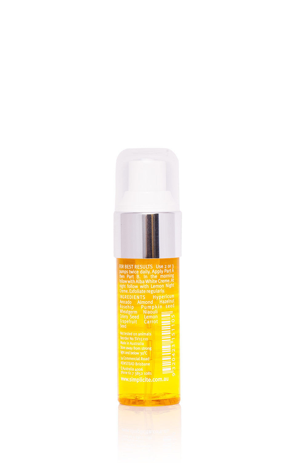 Simplicité Pigmentation Serum Lipo Nutrients (part B)