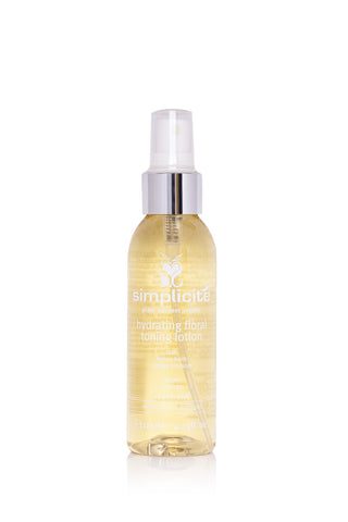 Simplicité Hydrating Floral Toning Lotion for Normal Dry Skin