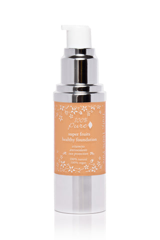 100% Pure Healthy Skin Liquid Foundation