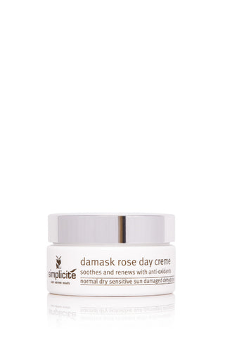 Simplicité Damask Rose Day Creme With Vitamins A & E