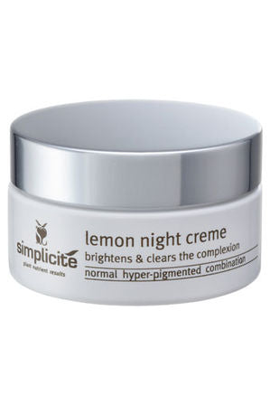Simplicité Lemon Night Creme