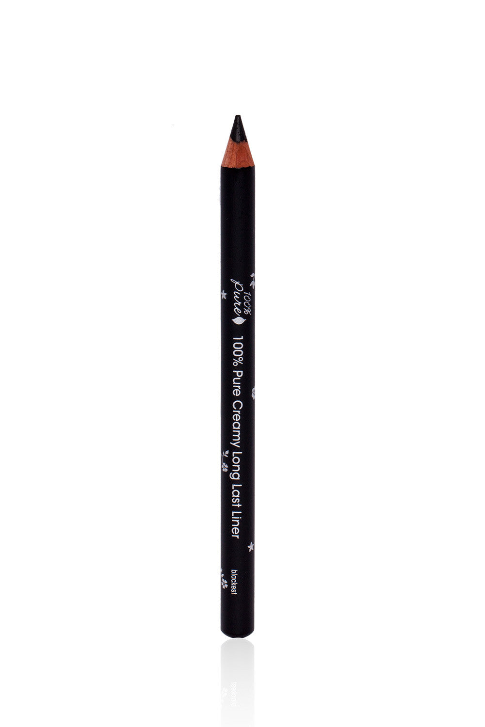 100% Pure Fruit Pigmented Black Long Last Pencil Eyeliner
