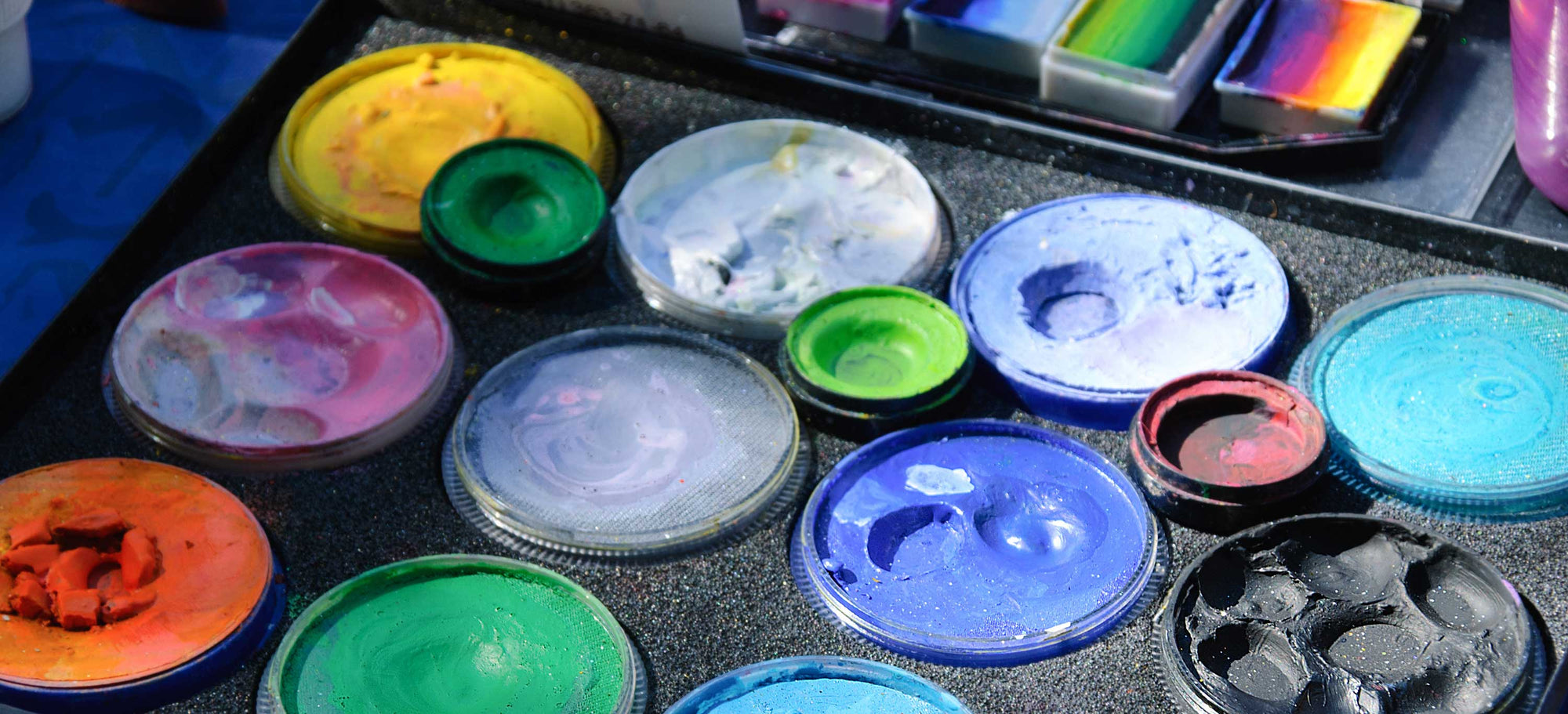 Starting Out As A Professional Face & Body Painter: Part One - Choosing The Right Paint For You