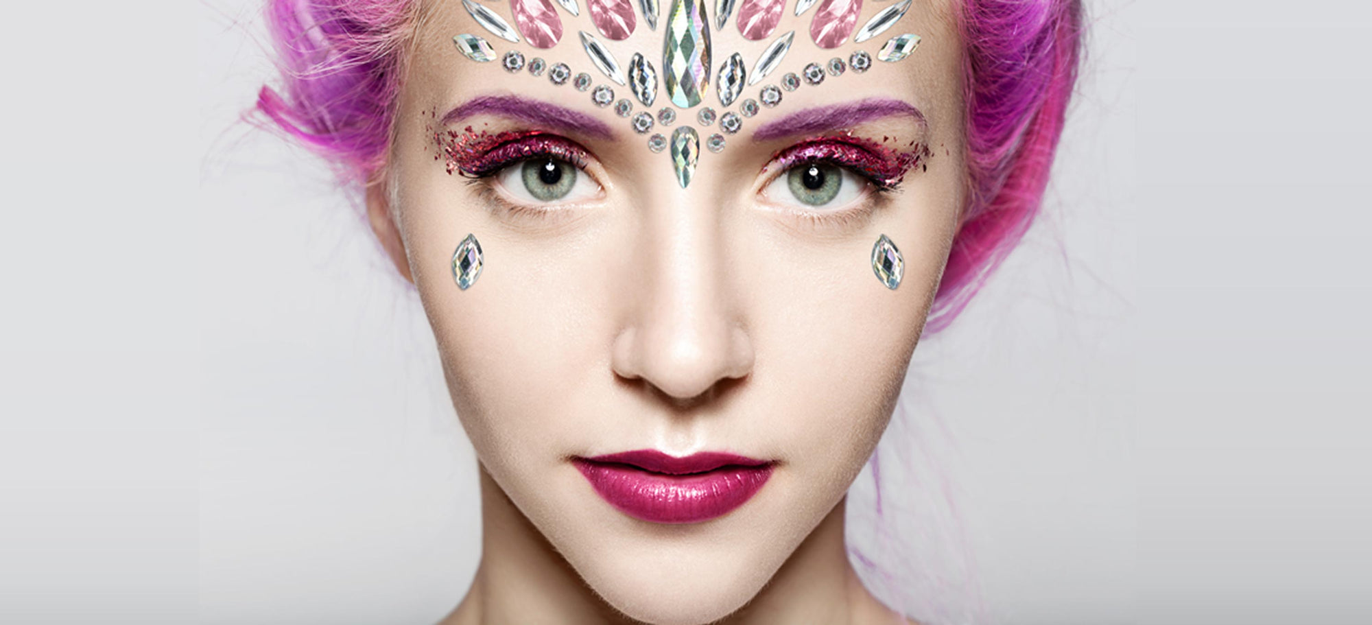 Create A Festival Look Using WRATH Face Gems and Bio-glitters