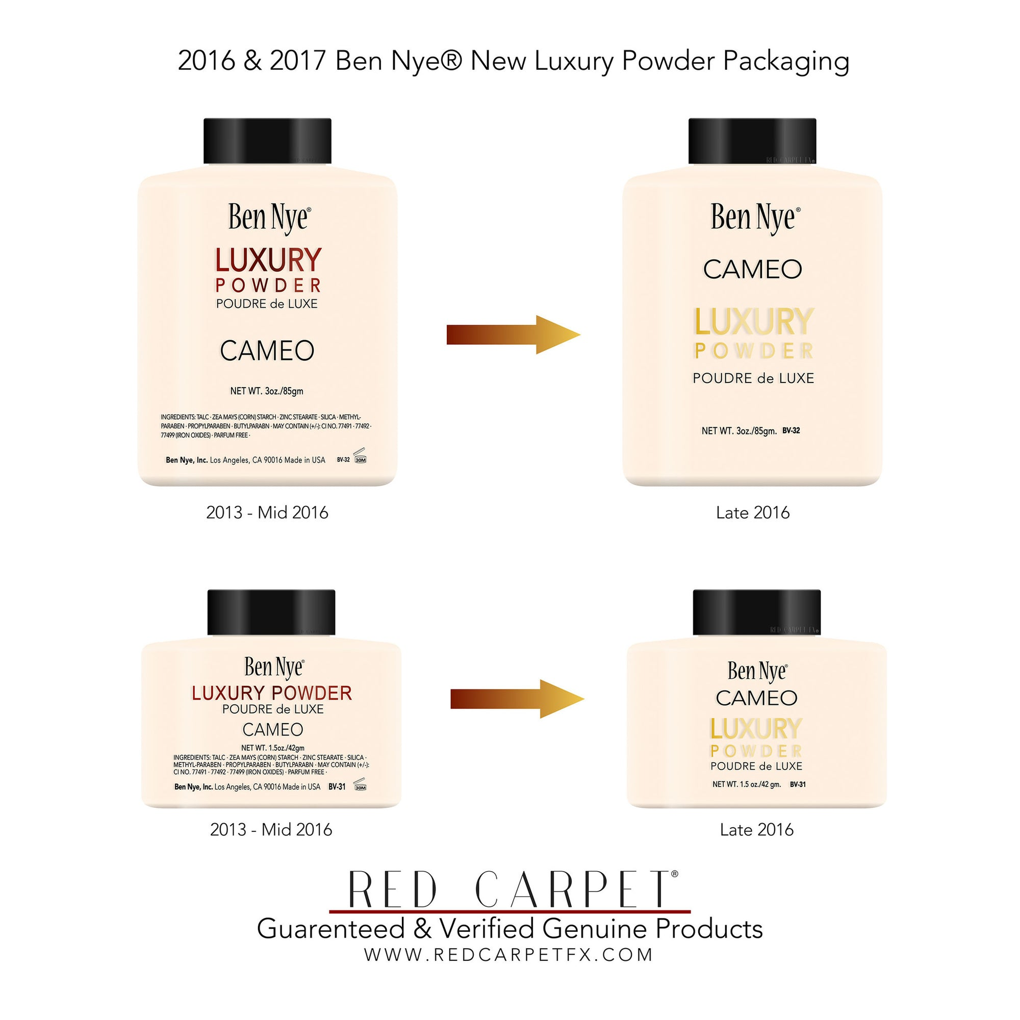Introducing the New Style Ben Nye Luxury Powder Branding