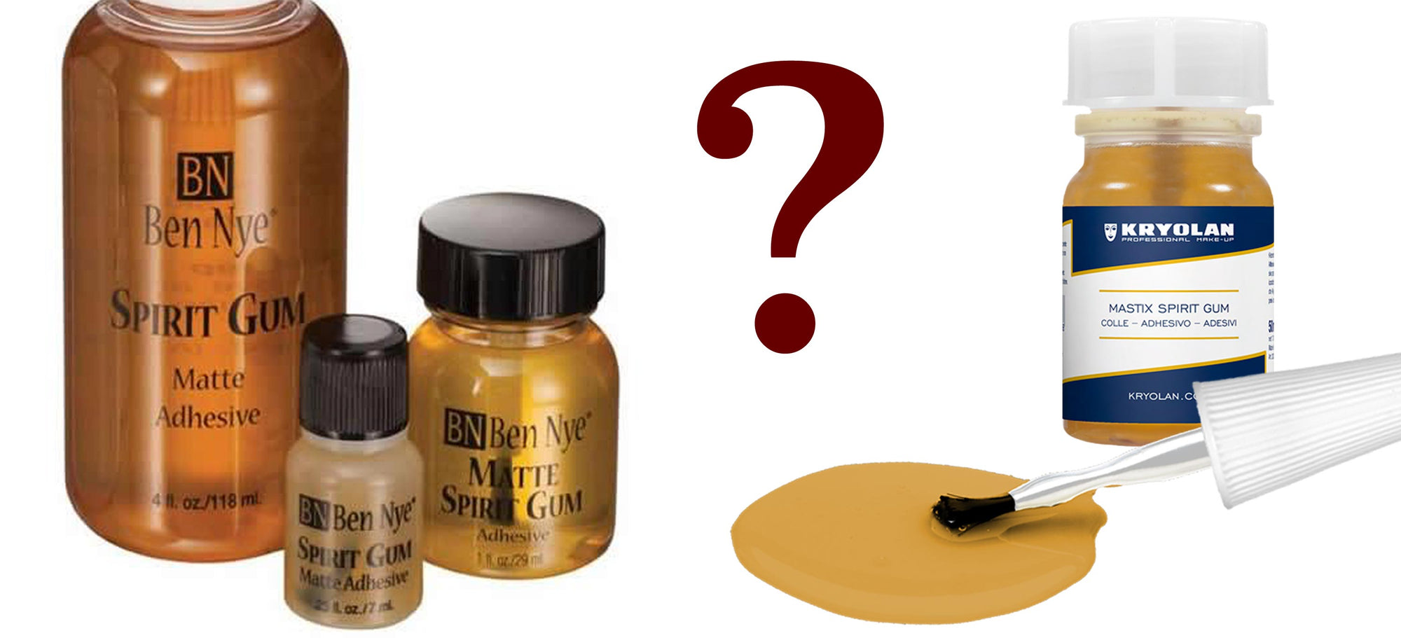 Choosing The Best Spirit Gum