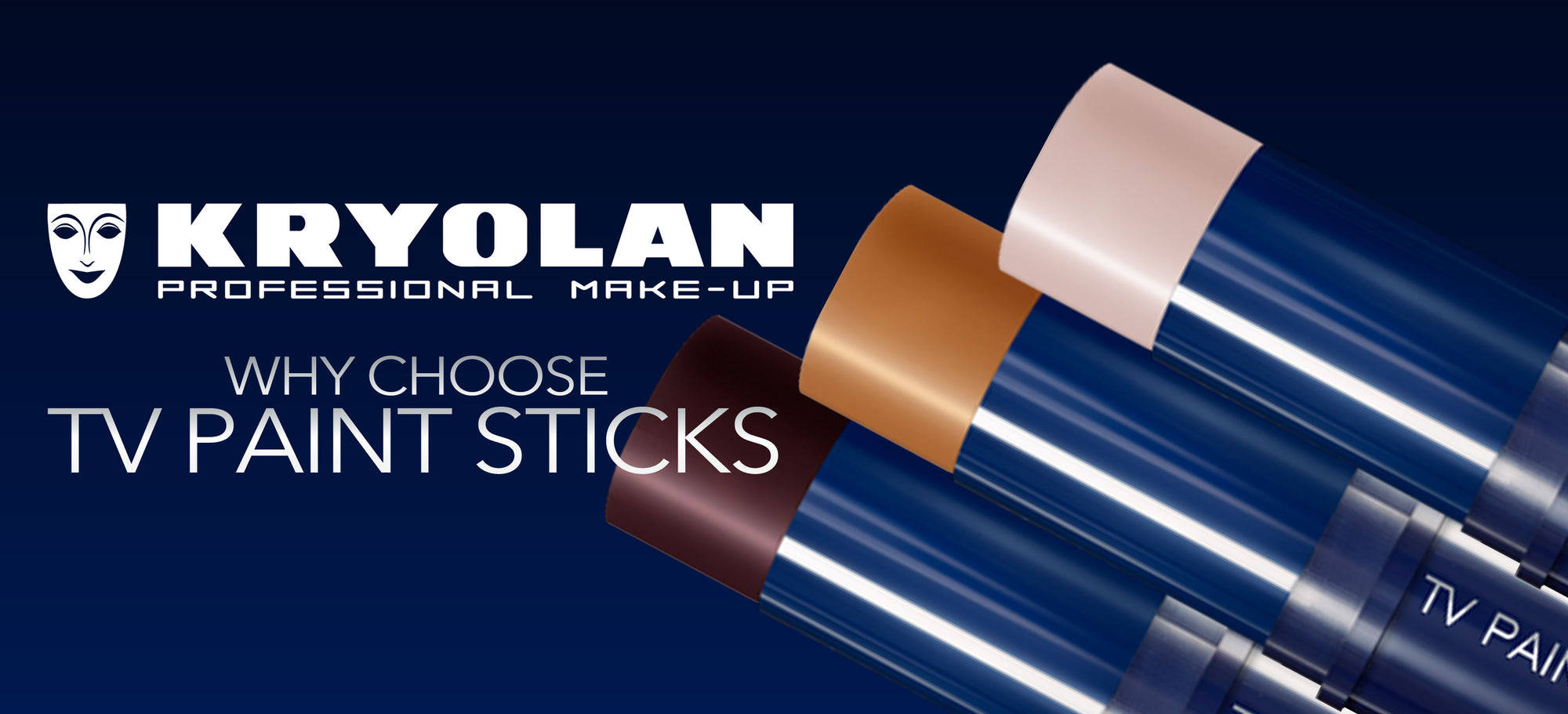 Why Choose Kryolan TV Paint Sticks?